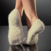 VOGUE Angora-steps Beige & Cameo Rose